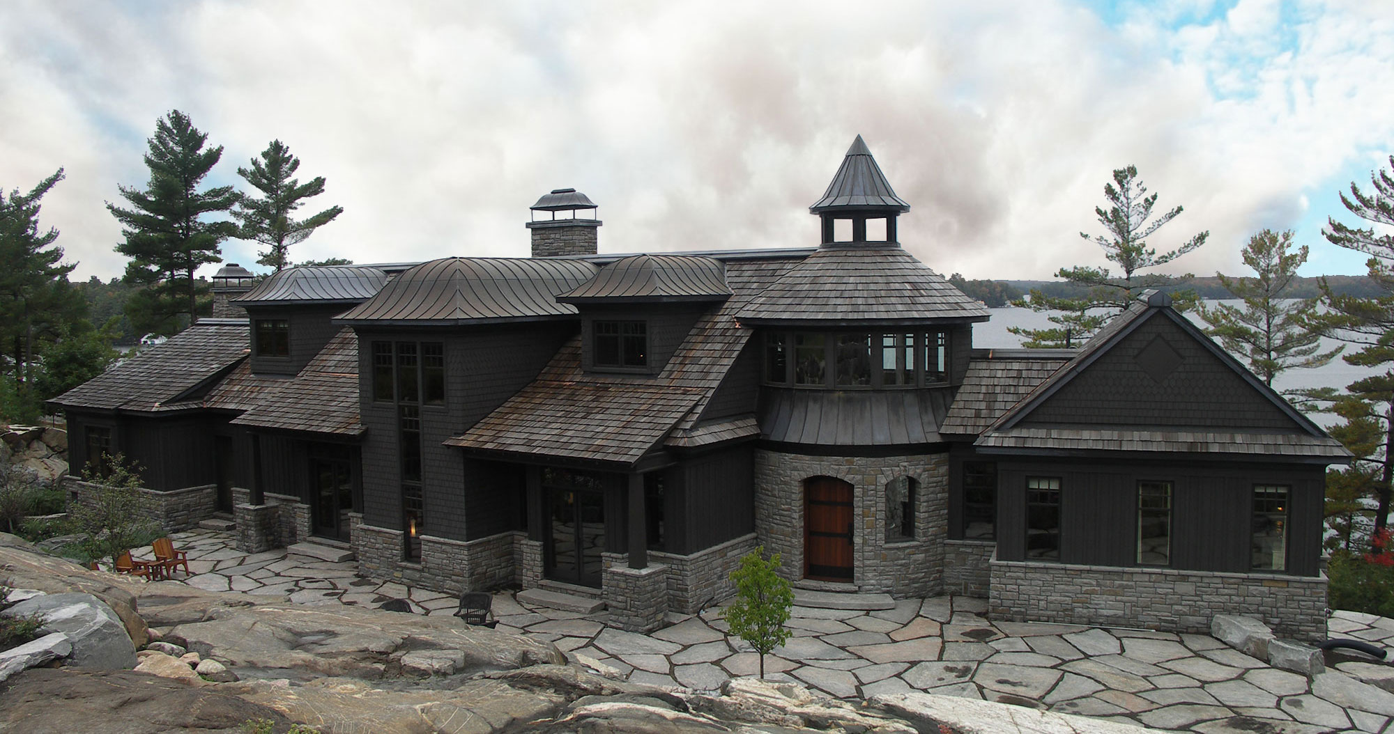 Custom homes cottages muskoka building company for House construction companies